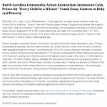NCCAA Youth Essay Contest Press Release
