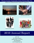 Bergen County Community Action Partnership Annual Report - 2010