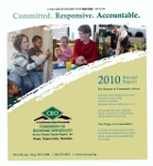 Commission on Economic Opportunity Annual Report - 2010