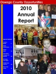 Oswego County Opportunities, Inc. Annual Report - 2010