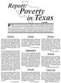 Poverty in Texas 2008